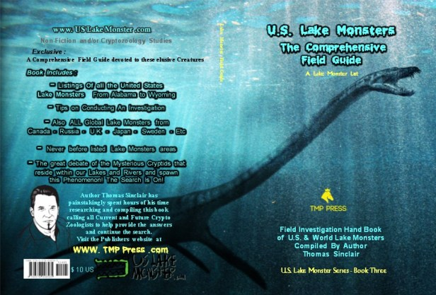 Lake Monster Field Guide List Book 3