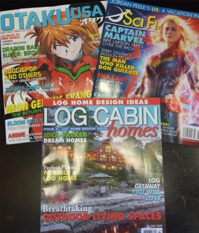 past magazines