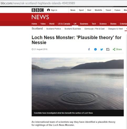 loch ness news
