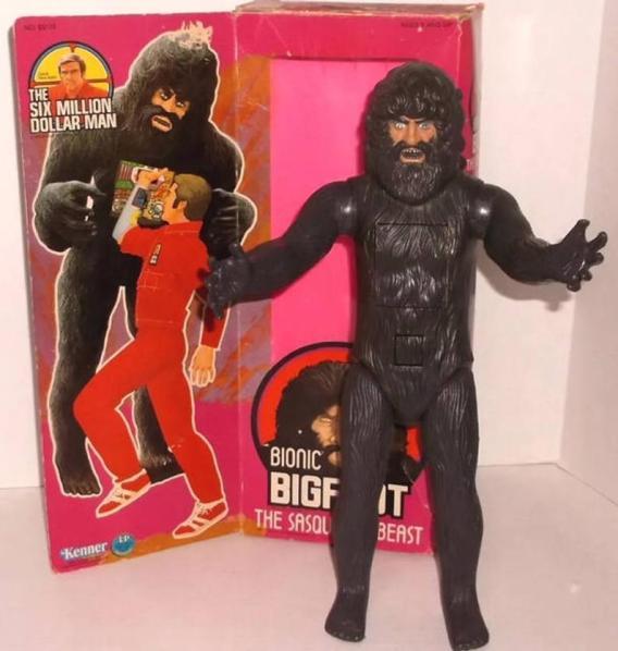 bigfoot toy