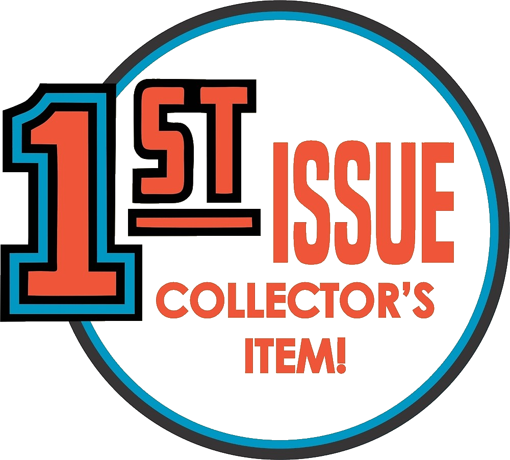 1st issue logo